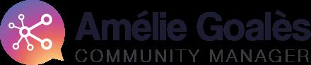 logo par Anne Guerin - Amelie Goales community manager